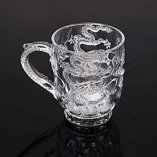 bwechsel Becher Wasser aktiviert leuchten Drachen Muster Bier Tasse 285ml ()