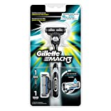 Gillette Mach3 Rasierapparat mit 2 Klingen