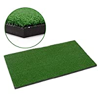 Lixada Backyard Golf Mat Golf Training Aids Outdoor and Indoor Hitting Pad Practice Grass Mats Golf Training Mat Grassroots