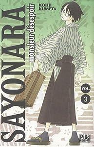 Sayonara Monsieur Désespoir Edition simple Tome 3
