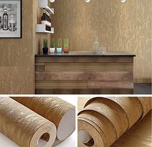 Weiß, Brown Abstract Metallic Embossed Plain 3D Texturierte Tapete Luxus Dickes Wandpapier Für Schlafzimmer Wohnzimmer Wohnkultur -