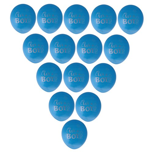 Segolike 100pcs Its A Boy Girl Latex Balloons Baby Shower Party Decorations - blue