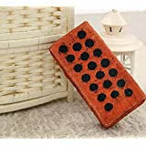 ZENDY creativo cojines de la almohadilla del amortiguador de la simulación de madera forma y ladrillo forma (Ladrillo01)