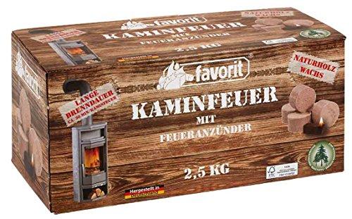Für Ofen Zünder (Favorit Jumbo Zünder 2,5 kg in wiederverschließbarer Faltschachtel)