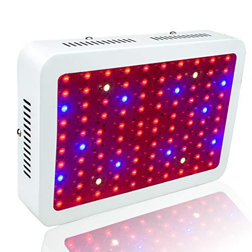 WYZM LED Pflanzenlampe,LED Grow Lampe,1000W HPS Äquivalent,Volls