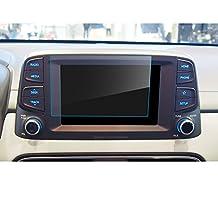 LFOTPP Hyundai Kona 8 pulgadas Navegación Protector de pantalla - 9H Cristal Vidrio Templado GPS Navi