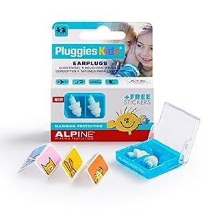 Alpine Pluggies Kids - Ear Plugs to Protect Children's Hearing