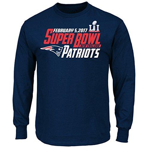 new-england-patriots-majestic-nfl-super-bowl-li-51-hash-mark-l-s-mens-t-shirt-chemise
