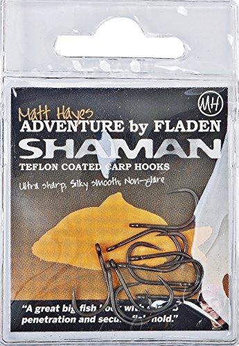 matt-hayes-shaman-quality-teflon-coated-barbless-carp-eyed-fishing-hooks-size-4-6-8-10-ultra-sharp-s
