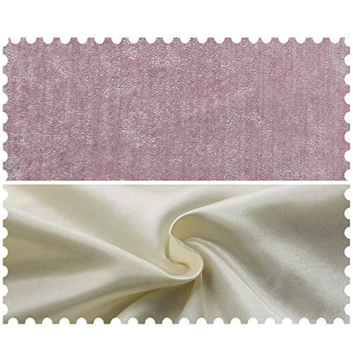 Kao0yan tende oscuranti nordic minimalista tessuto della tenda moderna camera da letto soggiorno da pavimento a soffitto finestra rosa, 200, a