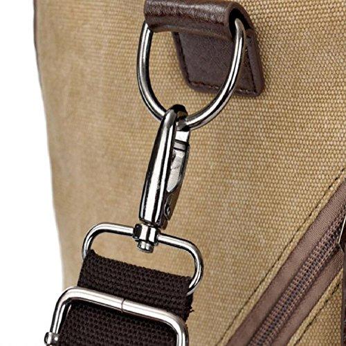 ZC&J 27L große Kapazität Spielraumbeutel, beiläufiger Gepäckbeutel des Feiertags, Qualitätssegeltuchbeutel feste Abnutzung Anti-Kratzer Anti-Riss, wandernde Tasche A