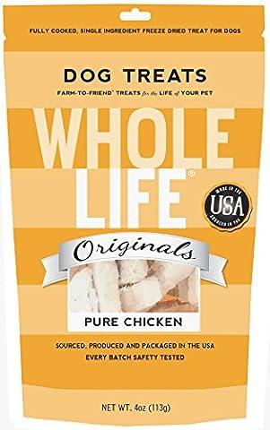 Whole Life Pure Chicken Pet Treats (4-oz bag)
