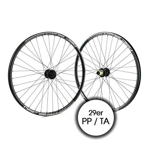 RIDEWILL BIKE Coppia Ruote 29er Perno Passante 11v Disco Nero (Coppia Ruote) / wheelset MTB 29er Thru axle 11s Disc Black (Wheelset)