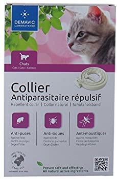 Demavic Collier Insectifuge pour Chat/Chaton