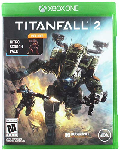 Xbox Titanfall 2 (Xbox One) with Bonus Nitro Scorch Pack Ohrstöpsel, 7 cm, Schwarz (Black)