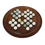 Junta Solitaire Juegos Artesanales Juguetes hechos a mano de madera de la India