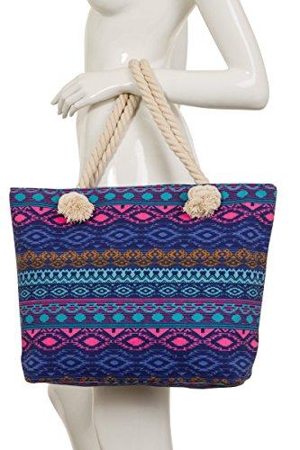 ThaiUK ,  Damen Tasche Bali Blues