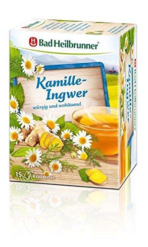Bad Heilbrunner Kamille-Ingwer Tee, 15er Filterbeutel, 1er Pack (1 x 30 g) 4
