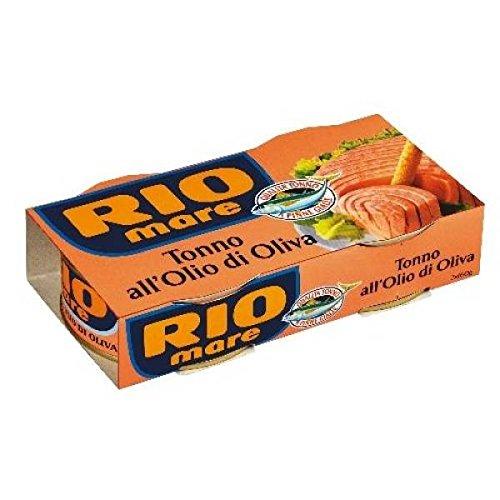 Rio Mare Thon huile d'olive 2 x 160 grs - ( Prix Unitaire ) - Envoi Rapide Et Soignée