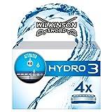 Wilkinson - Hydro 3 - Lames de rasoir pour Homme - Pack de 4