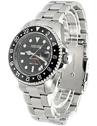 Nautec No Limit Herren-Armbanduhr DS GMT/STBK2