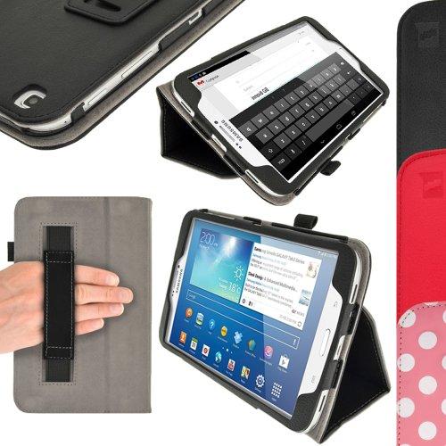 igadgitz U2542 Custodio Portfolio PU Pelle per Samsung Galaxy Tab 3 8.0' SM-T310 Cover - Nero