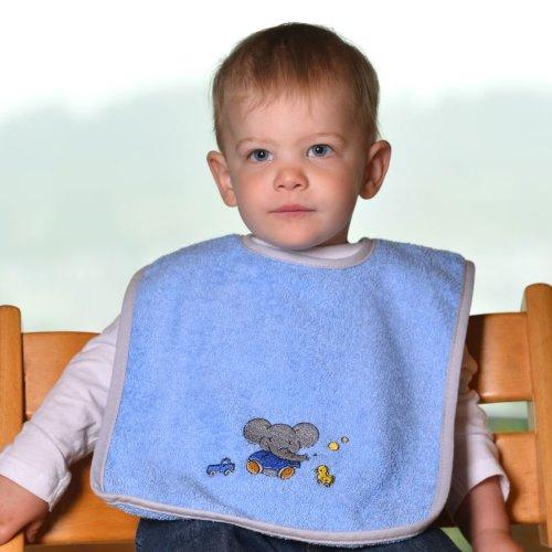 worner-gant-nouvelle-collection-elephant-clair-bavoir-des-serviettes-gant-de-toilette-bleu-clair-rie