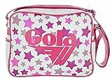 BORSA GOLA REDFORD GLITTER MULTI STARS, white/hot pink