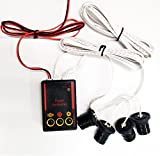 #5: Mahekas -Car Strobe Emergency Warning Flash Eagle Eye Light 4-Led 5-mode [Red] for Honda BRV