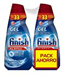 Finish Gel Lavavajillas Todo en 1 Max Regular - 70 dosis
