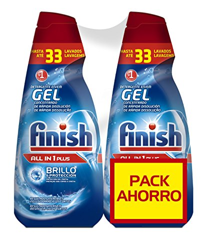 Finish Gel Lavavajillas Todo 1 Max Regular - 70 dosis
