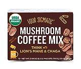 Mushroom Coffee with Lion's Mane, 10 Powder Bags - Four Sigma Foods - Qty 1