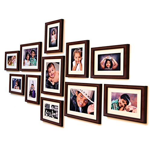 Ajanta Royal Classic set of 11 Individual Photo Frames (8-6x8 & 3-8x10)...