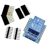 DollaTek 1-Kanal Relais Shield für Arduino D1 Mini WiFi Entwicklungsboard Modul