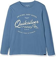 Quiksilver Ls ClassicYouth West Pier - Camiseta de manga larga para niño
