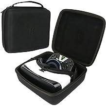 Khanka VR Box Realidad Virtual Funda Estuche Bolso. Para Samsung Gear VR/ Tera 3D Gafas y Mando inalámbrico Bluetooth Control remoto