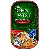 John Filets De Maquereaux De L'Ouest À La Sauce Tomate (125G)