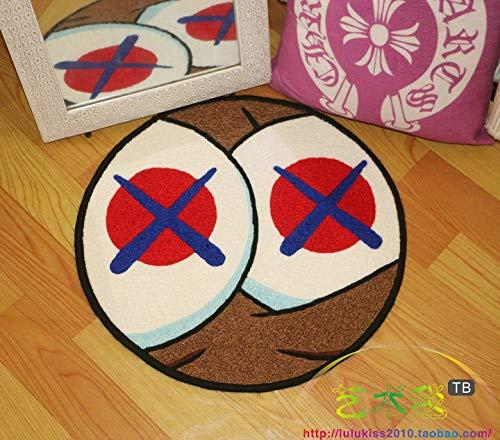 alfombras infantiles dans la salle de jeuxAlfombra de alfombra Alfombra antideslizante manta redonda, 70 * 70 cm, thickplaymat bebé
