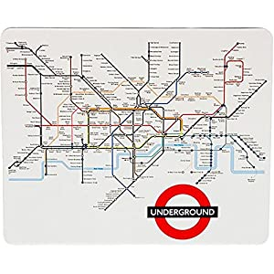 Transport for London, London Tube Map Underground Mat Impreso ratón de la computadora