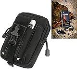 K-S-Trade Gürtel Tasche für Caterpillar Cat S31 Gürteltasche Schutzhülle Handy Hülle Smartphone Outdoor Handyhülle schwarz Zusatzfächer