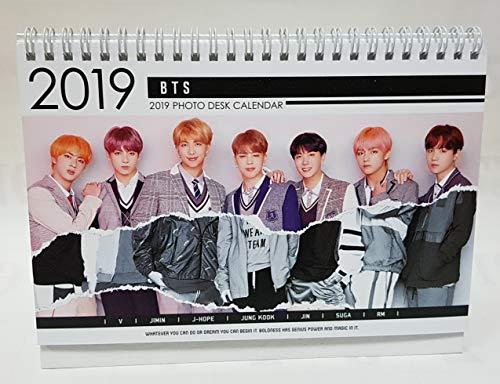 BTS Bangtan 2019-2020 Photo Desk Calendar+Gift (Instagram