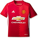 adidas Kinder Manchester United Heim Trikot, Real Power Red/White, 128