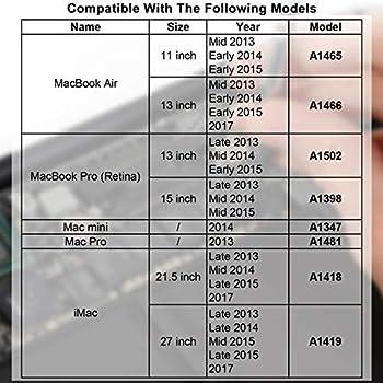 INDMEM 1TB NVMe PCIe Internal SSD for MacBook Pro Retina Late 2013 - Mid 2015, MacBook Air Mid 2013-2017, iMac Late 2013-2017, Mac Pro Late 2013, Mac Mini Late 2014