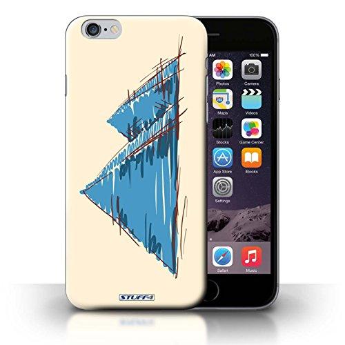 Kobalt® Imprimé Etui / Coque pour iPhone 6+/Plus 5.5 / Statue de la Liberté conception / Série Monuments Pyramides