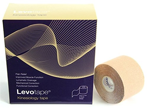 Preisvergleich Produktbild Levotape Bandage / Bandageband Kinesiology, Rot
