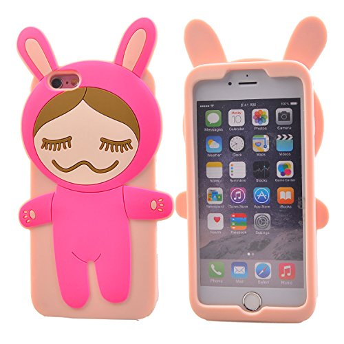 "COOLKE Mode 3D Style Cartoon Gel Soft silicone Coque Housse étui Case Cover Pour Apple iPhone 6s Plus / 6 Plus (5.5"") - 020 020"