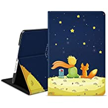 Ayotu iPad Mini 1 / 2 / 3 Case,Slim Lightweight Cover with Auto Wake/Sleep Function and Multi-Angle Viewing Stand Smart Protective Cover Case for Apple iPad Mini 1 (2012)/iPad Mini 2 (2013)/iPad Mini 3 (2014)-The Horoscope-The Boy and Fox