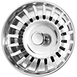 Anpro AWP1-1-APX-UK Stainless Steel Kitchen Sink Strainer Plug 78mm