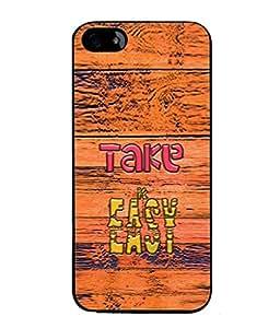 FUSON Designer Back Case Cover for Apple iPhone SE (Illustration Inspiration Change Motivate )