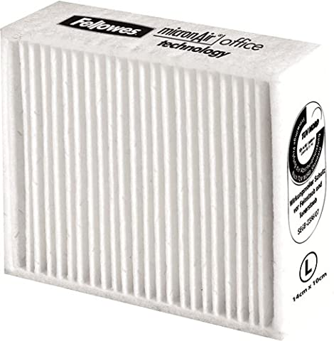 Fellowes 100 x 80mm Large Clear Air Fine Dust Printer Filter Cleaners